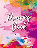 Drawing Book: Sketch book 8.5 x 11 Large, Blank Drawing Book, A4 Art Sketch Pad, Writing, White Paper, 120 Durable Blank…
