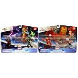 Disney Infinity 2.0 - Guardians Of The Galaxy and Avengers Playset Bundle