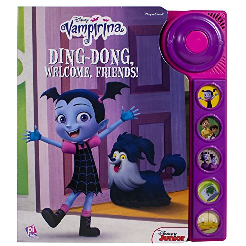 Disney Vampirina - Ding-Dong, Welcome Friends! - Play-a-Sound - PI Kids -
