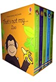 Usborne Thats Not My Zoo Collection 5 Books Box Set (Wildlife Animals) (Thats not my Meerkat, Thats not my Elephant, Thats not my Lion, Thats not my Monkey, Thats not my Panda)