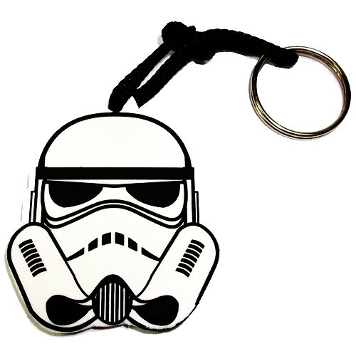 Chaveiro Emborrachado Star Wars Stormtrooper