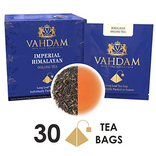 Dragon Detox Tea (Himalayan Oolong Tea Leaves, 15 Tea Bags (PACK OF 2), Long Leaf Pyramid Oolong Tea Bags, Oolong Tea for Weight Loss, 100% Natural Oolong Tea Loose Leaf, Detox Tea & Slimming Tea, Packed at Source)