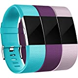 For Fitbit Charge 2 Bands(3 Pack), Maledan Replacement...