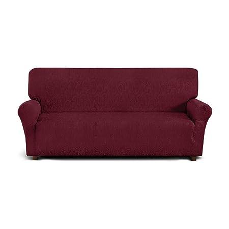 Funda de sofá de 3 plazas (de 170cm a 210cm) - Color AMARILLO