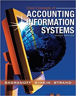 Book Core Concepts of Accounting Information Systems by DBA Nancy A. Bagranoff (2007-03-19)