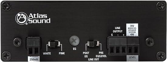 Atlas Sound Sound Masking Generator Amplifier