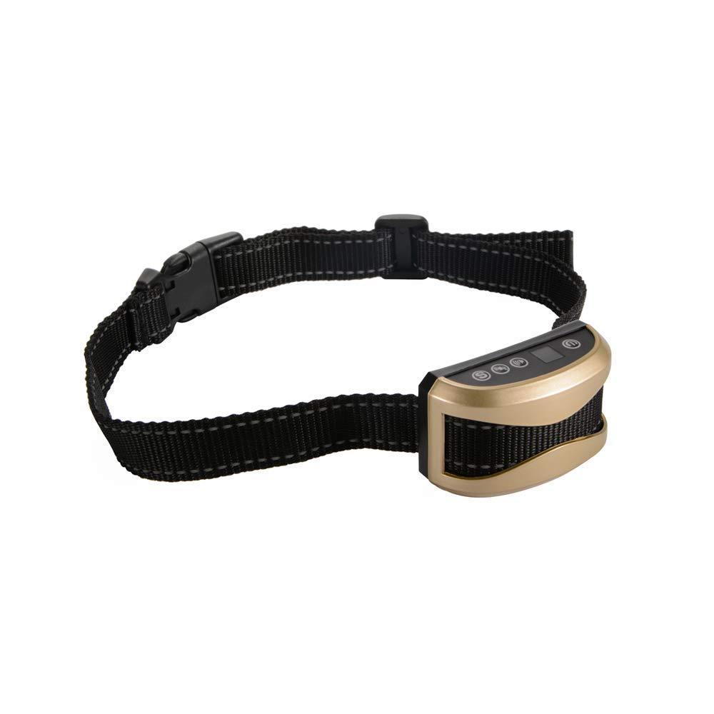Kreema Ricaricabile Smart LED Collar Bark Control Stop Barking Pet Dog Anti-Bark Accessori per l'allenamento Intelligente