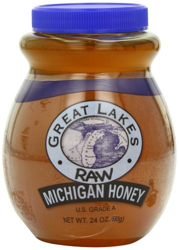 Great Lakes Raw Michigan Honey, 24-Ounce