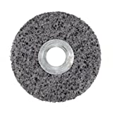 3M CS-UW - Clean & Strip - Unitized Wheel - 76 x 25 x 6.35 mm - S - XCRS - 7 Silicon Carbide, 14100 rpm, 3'' Diameter x 1'' Width, 1/4'' Arbor, 7S Extra Coarse Grit (Pack of 10)