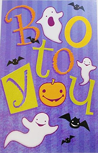 Boo To You - Happy Halloween Greeting Card
