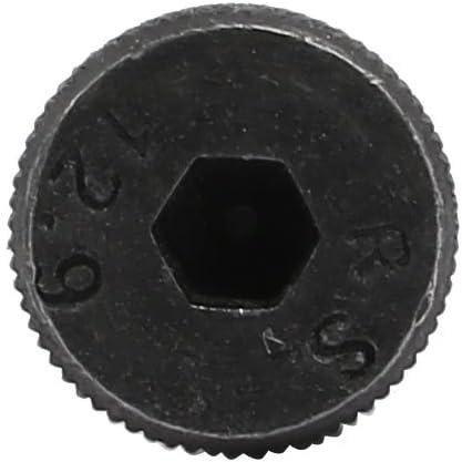 uxcell 10pcs 40Cr Steel Shoulder Bolt 8mm Shoulder Dia 40mm Shoulder Length M6x12mm Thread