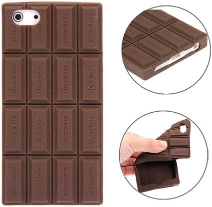 Chocolate Style Silicone Custodia Case Cover per iPhone 5 & 5S ...