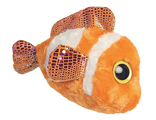 Aurora World 5-Inch Yoohoo and Friends Clownee Clown Fish Plush Toy