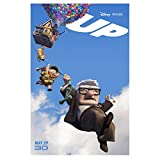 #1: Up 11 Inch x17 Inch lithograph Disney Pixar 3D Animated Movie kn
