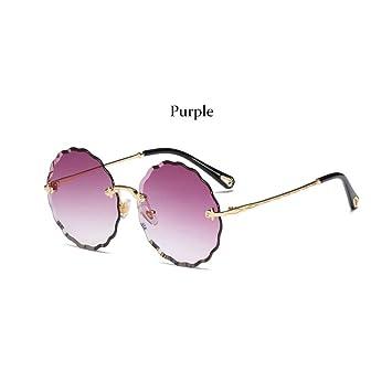 TJJQT Gafas de Sol Gafas de Sol Transparentes descoloridas ...