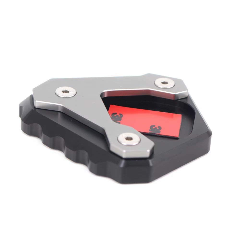 Motorcycle Side Stand Plate Enlarger Kickstand Extension Pad For G310GS 2017-2018