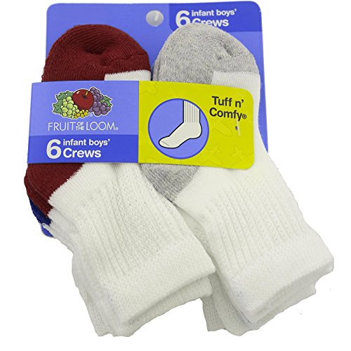 fruit-of-the-loom-toddler-6-pack-crew-socks-assortedcolor-shoe-size-4-85-sock-size-5-65