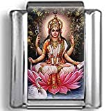 Hindu Goddess Lakshmi Photo Italian Charm