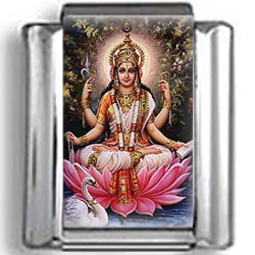 Hindu Goddess Lakshmi Photo Italian Charm by CharmsLand