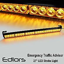 "27"" Emergency Warning Traffic Advisor Vehicle Strobe Light Bar - Amber"
