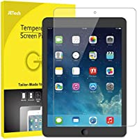 JEDirect iPad (9.7インチ、2018/2017モデル、第6/5世代) iPad Air/iPad Air2/iPad Pro9.7 用 強化ガラス 液晶保護フィルム