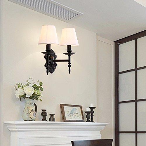 GK de la Escalera de luz de piso Dormitorio Marcha El cumplimiento de las Escaleras Leuchten pared decoración de Nordic Americano retro lámpara Toalla 24 x ...