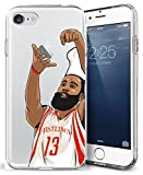 iPhone 7 Case, Chrry Cases Ultra Slim [Crystal Clear] [NBA Player] Soft Transparent TPU Case Cover for Apple iPhone 7 (4.7) - Chef Harden