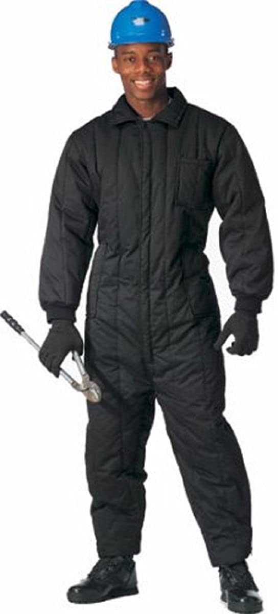 Galaxy Army Navy 9018 Black Insulated Coverall (4X-Large) D0-EGCU-D6AK