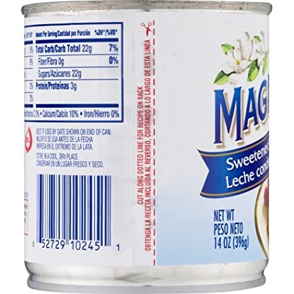 Amazon.com : Magnolia Sweetened Condensed Milk - 14 oz (Pack of 2) : Grocery & Gourmet Food