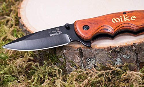 Gold-Engraved-Groomsmen-Gift-Personalized-Knife-Custom-Pocket-Knives-Groomsman-Husband-Hunting-Man-Mens-Boyfriend-Wedding-Gifts-Folding-Blade-Rustic-Buck-Knifes-Spring-Assisted-Opening