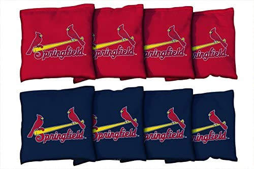 MiLB野球Springfield Cardinalsユニセックス941335 Cornhole Bag Set (All Weather)、マルチカラー、1サイズ