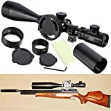 Ledsniper®ZOS 10-40x60 E SF IR SWAY R6 Reticle MilDot Tacticle Rifle Scope Multi Coated