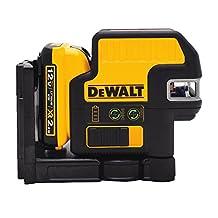DEWALT DW0825LG 12V 5 Spot/Cross Line Laser, Green