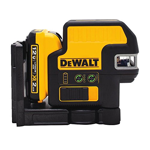 3d Molded Wood - DEWALT DW0825LG 12V 5 Spot + Cross Line Laser, Green