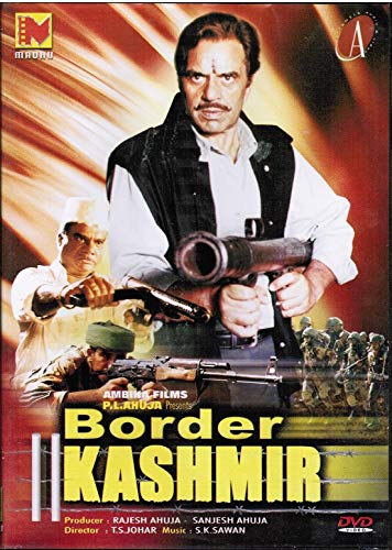 Border Kashmir (Brand New Single Disc Dvd, Hindi Language, With English Subtitles, Released by Madhu)
