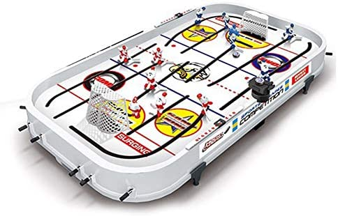 klinkamz Juego de Mesa para niños Mini Rod Hockey Table Top ...