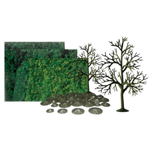 JTT Scenery Products Super Scenic Series: Deciduous Tree Kit, 6
