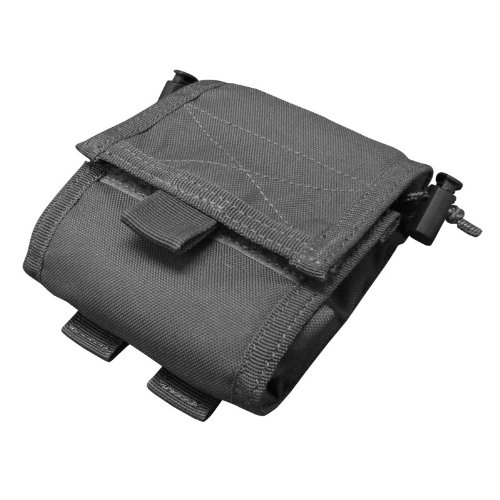 Condor Roll- Up Pouch (Black, 4.5 x 5-Inch), Outdoor Stuffs