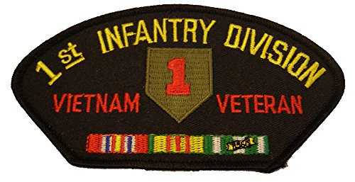 N VIETNAM VETERAN with CREST and SERVICE RIBBONS PATCH - Great Color - Veteran Owned Business ()