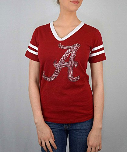 NCAA-Womens-V-Neck-TShirt-JV501
