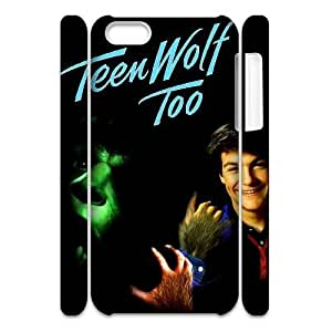 DIY 3D Cover Case for iPhone 5c w/ Teen Wolf image at Hmh-xase (style 1) by gostart by paywork