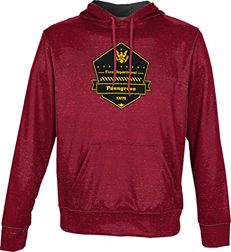 Price comparison product image Boys' Rancho Adobe Fire Protection District Fire Department Heather Pullover Hoodie
