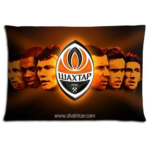 fan products of 16x24 inch 40x60 cm bed pillow shell cases Cotton - Polyester Fabric Health Shakhtar Donetsk