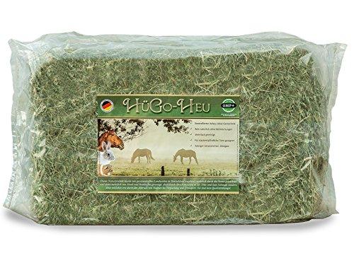 HüGo Heu 10 kg Beutel für Kaninchen Meerschweinchen Pferde Hamster