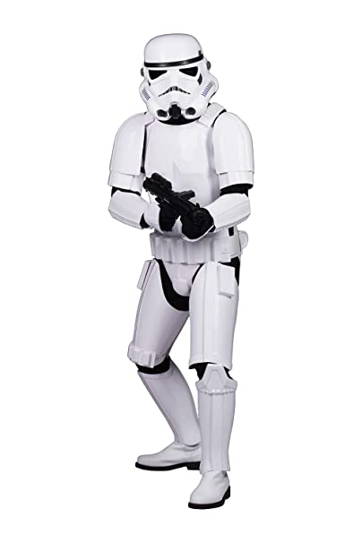 Star Wars Stormtrooper Completo Traje - XL EXTENDIDO: Amazon ...
