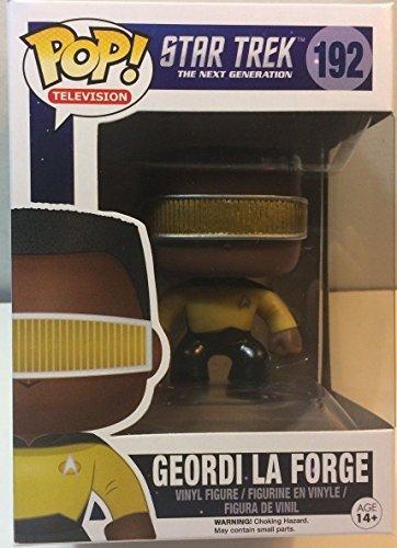 Funko Pop! STAR TREK NEXT GENERATION #192 GEORDI LA FORGE 4in Vinyl Figure NEW