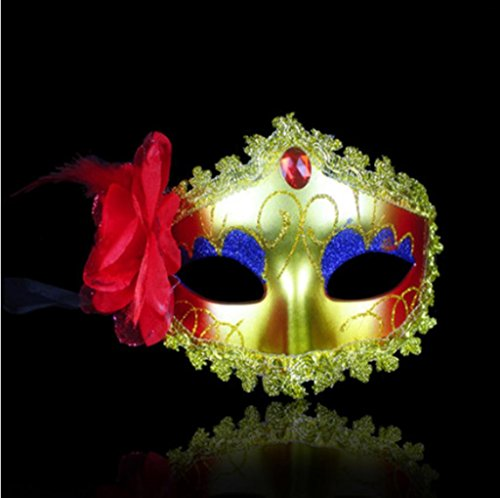 GYMNLJY Cosplay Fashion for Halloween Party Masquerade mask Half Face , -