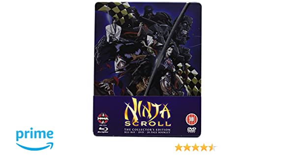 Ninja Scroll Blu-ray/DVD Steelbook [Reino Unido]: Amazon.es ...