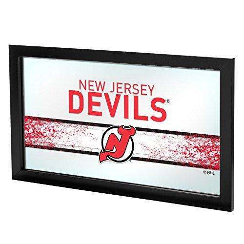 Trademark Gameroom NHL New Jersey Devils Framed Logo ()