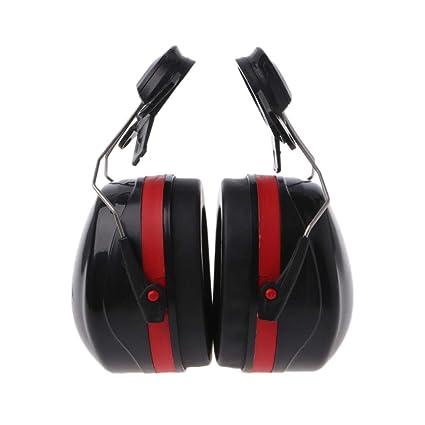 guoyy 31dB Orejas de Seguridad Orejas Protector auditivo Protector Auditivo Ferroviario de Casco de Trabajo